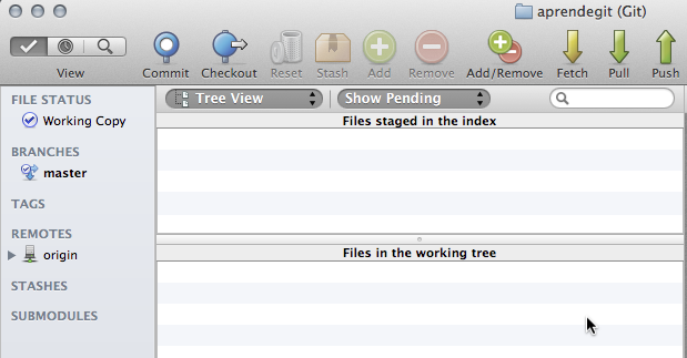 SourceTree después de ignorar *.phar